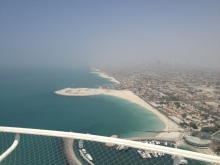 View from Burj Al Arab